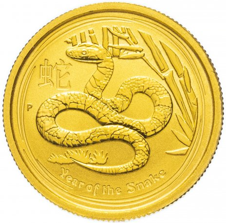 Купить Австралия 25 dollars (долларов) 2013 P  Year of the Snake (год Змеи)