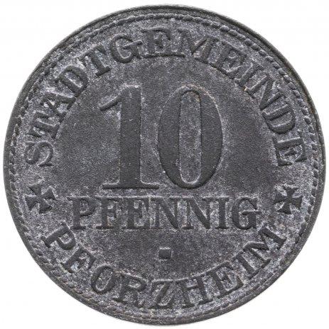 купить Германия, Пфорцхайм 10 пфеннигов 1917