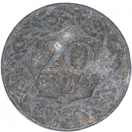 купить Польша 20 грошей 1923