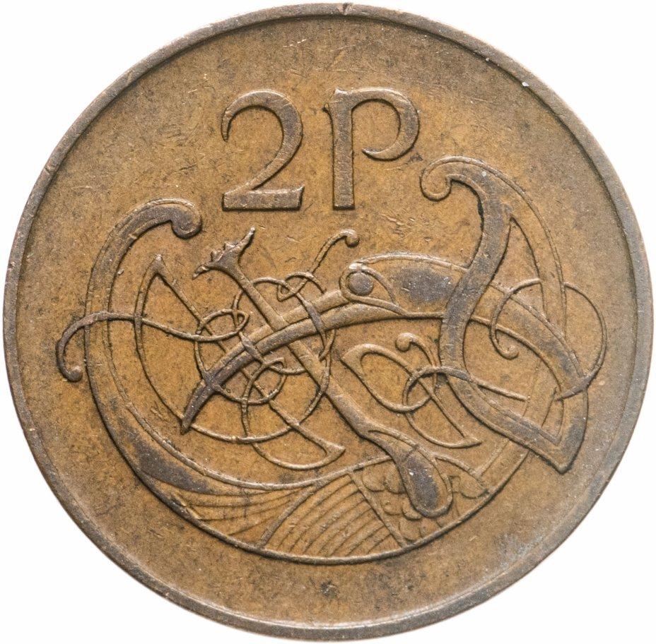 купить Ирландия 2 пенса (pence) 1971-1988 (бронза - не магнетик)