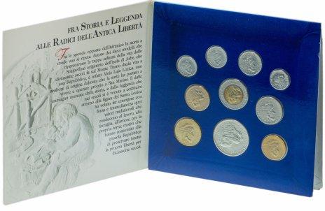 купить Сан-Марино набор из 10 монет 1994 в буклете