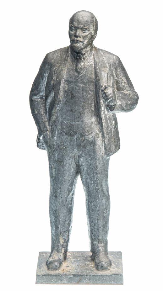 """купить Скульптура """"Владимир Ильич Ленин"""", силумин, литье, СССР, 1980-1990 гг."""