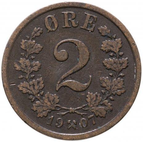 купить Норвегия 2 эре 1907