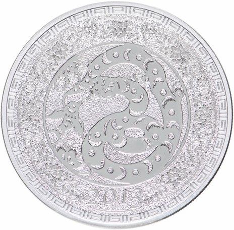 """купить Токелау 5 долларов 2013 """"Китайский гороскоп - Год змеи"""", в футляре с сертификатом"""