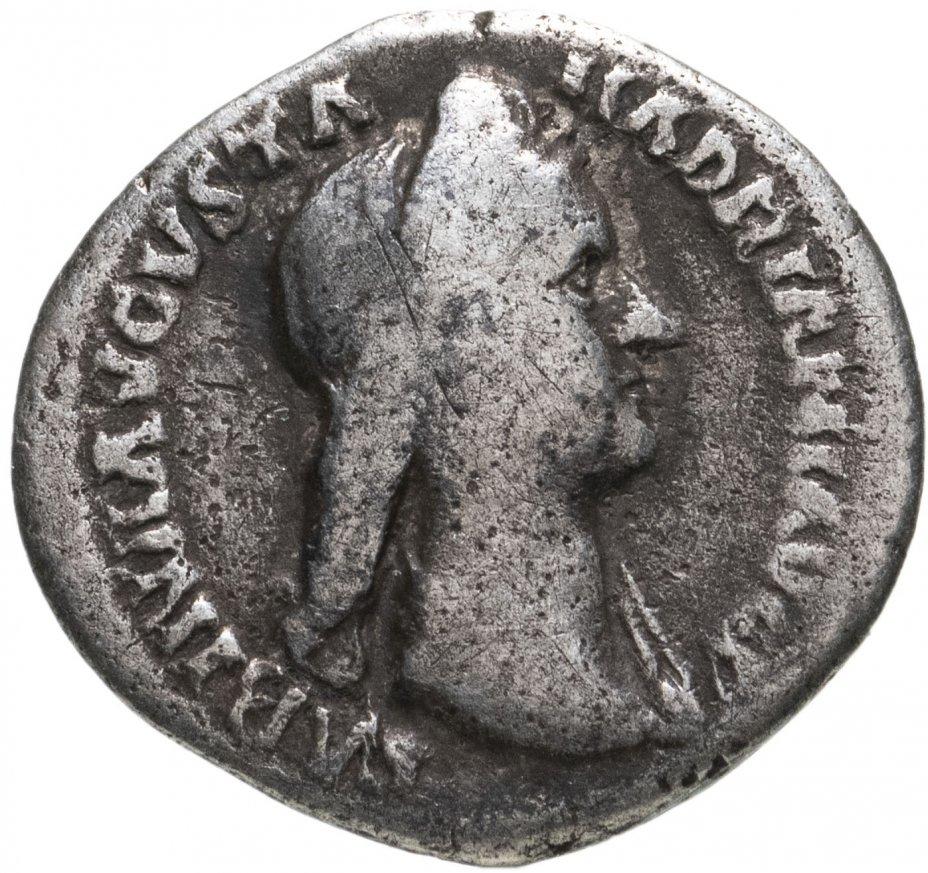 купить Римская империя, Сабина, супруга Адриана, 137-138 годы, Денарий.