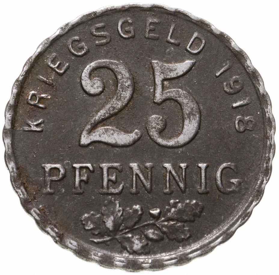 купить Германия (Бохум) нотгельд  25 пфеннигов 1918