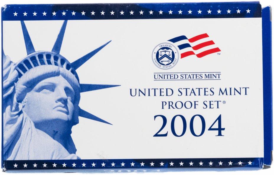 купить США набор монет 2004 S (11 монет)