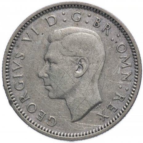 купить Великобритания 6 пенсов 1941