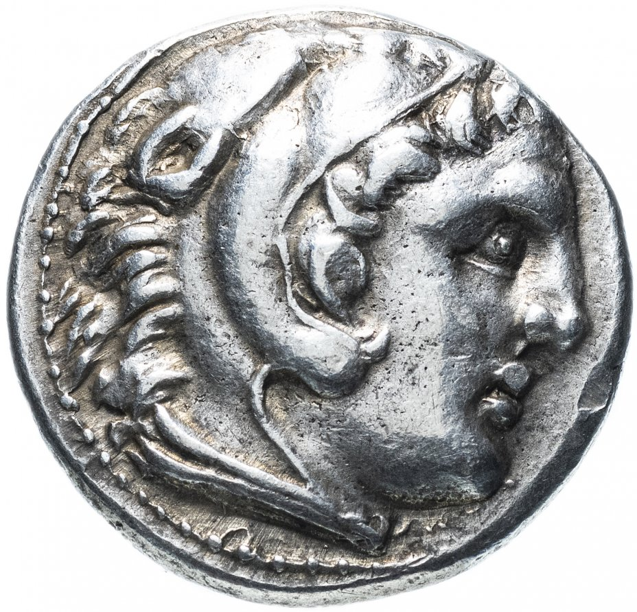купить Греция, Македонское царство, Александр III Великий, 317-305 годы до Р.Х., тетрадрахма. Амфиполис (Кассандр)