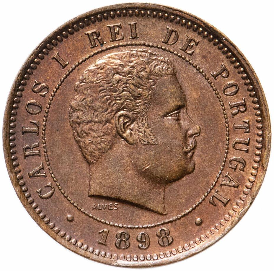 купить Португалия 5 реалов (reis) 1898 год (Король Карлуш I)