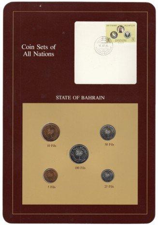 """купить Серия """"Наборы монет всех стран мира"""" - Бахрейн (набор из 5 монет и 1 марки в буклете)"""