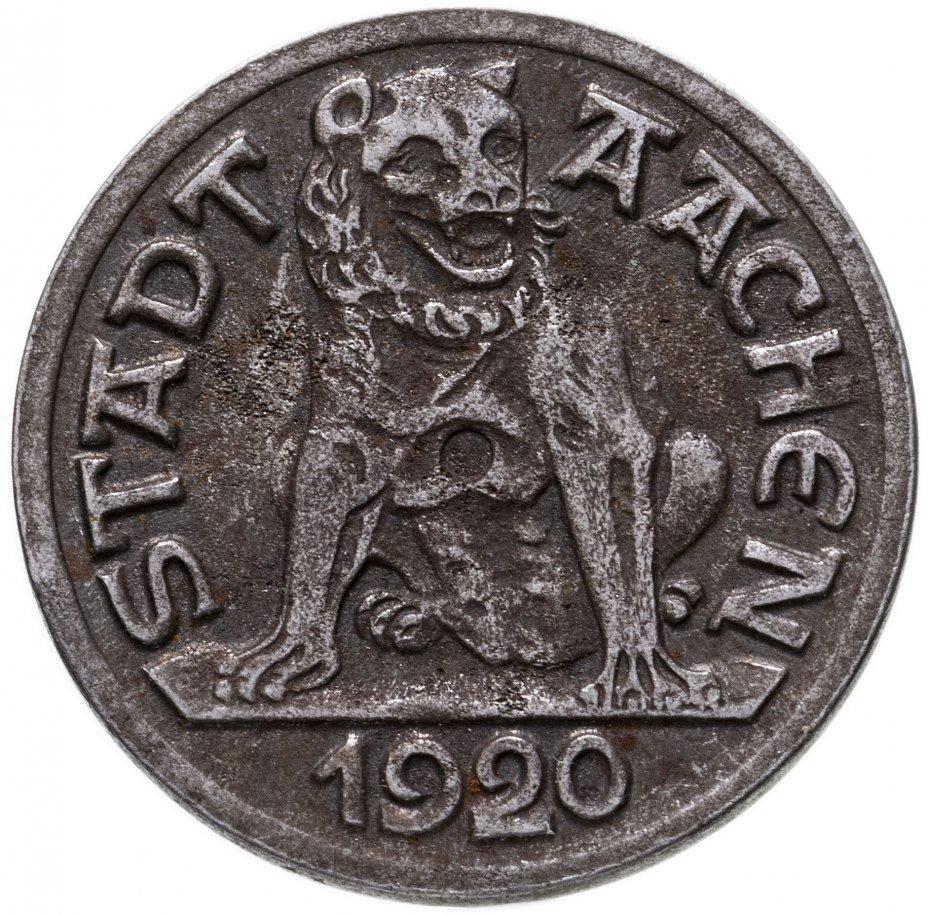 купить Германия (Аахен) нотгельд 10 пфеннигов 1920