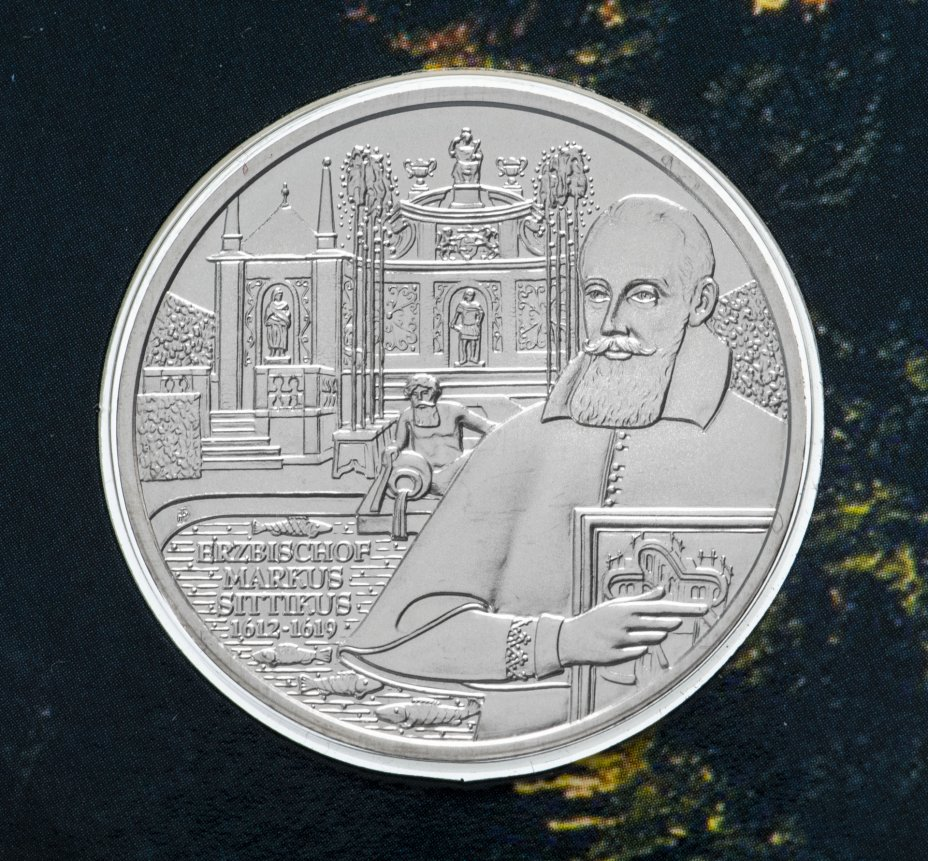 "купить Австрия 10 евро 2004 ""Замок Хельбрунн"""