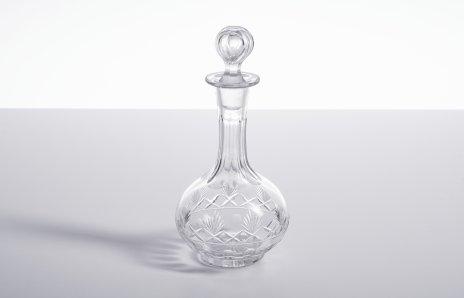 купить Штоф с геометрическим декором, стекло, алмазная грань, СССР, 1960-1970 гг.