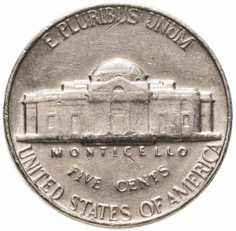 купить США 5 центов (cents) 1964 Jefferson Nickel без знака монетного двора