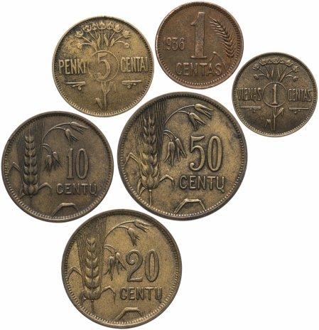 купить Литва набор из 6 монет 1925-1936