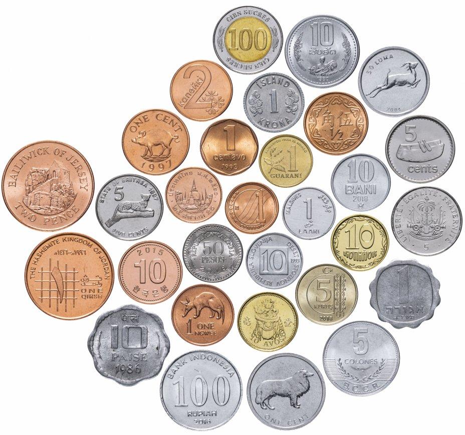 """купить Набор монет мира """"UNC - 1"""" 1966-2019 (30 монет)"""