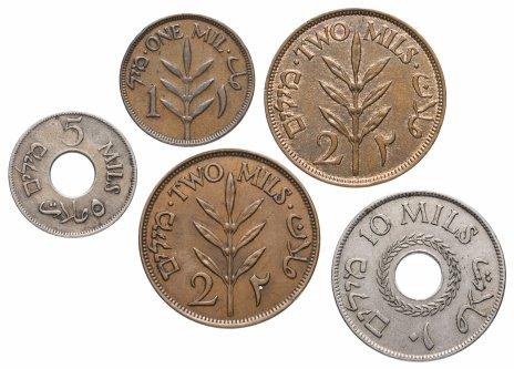 купить Палестина набор из 5 монет 1927-1941