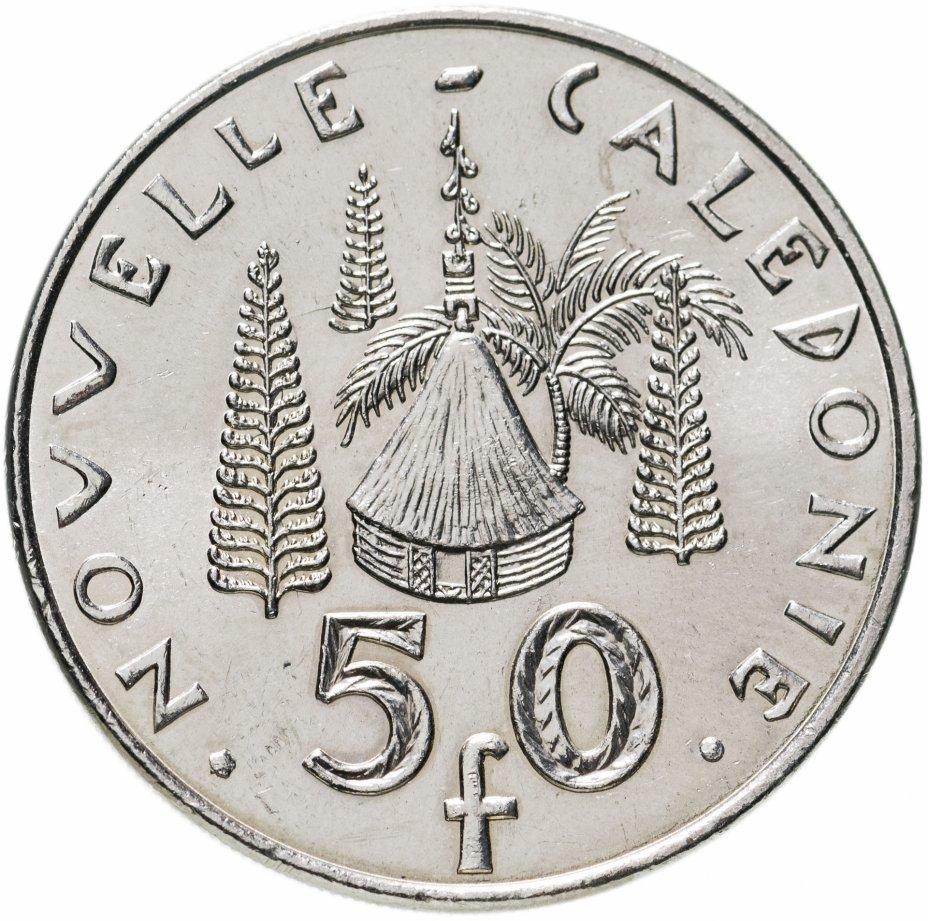 купить Новая Каледония 50 франков (francs) 2004