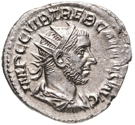 купить Римская империя, Требониан Галл, 251-253 годы, Антониниан.