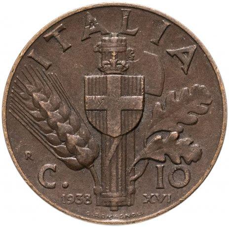 купить Италия 10 чентезимо 1936-1939
