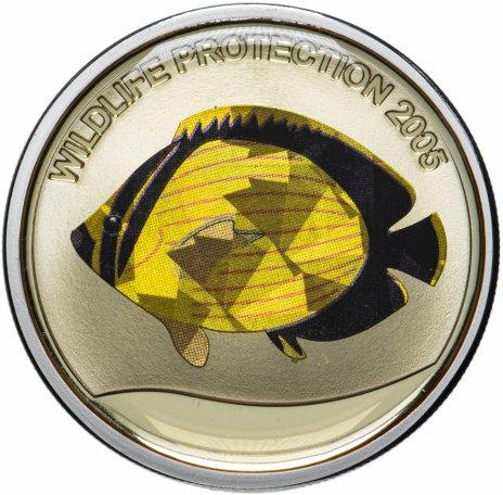 """купить Республика Конго 10 франков 2005 """"Защита дикой природы"""""""