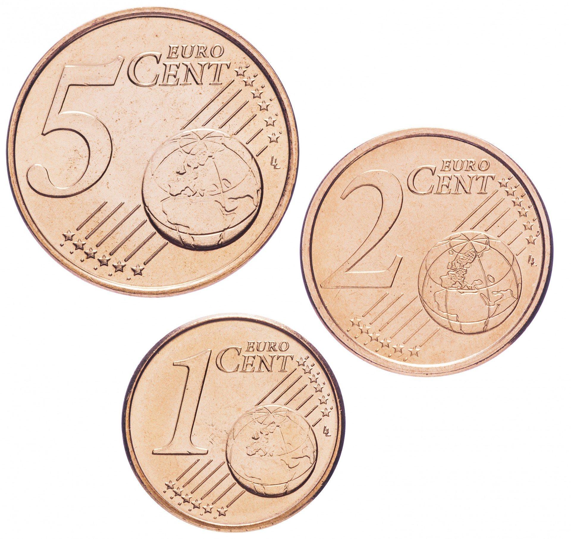Евроценты монеты евро купить деньги коллекционные