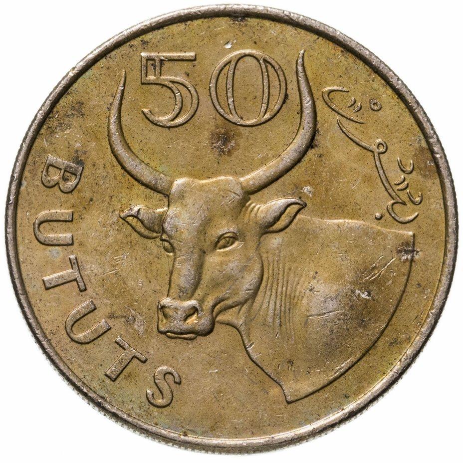 купить Гамбия 50 бутутов (bututs) 1998