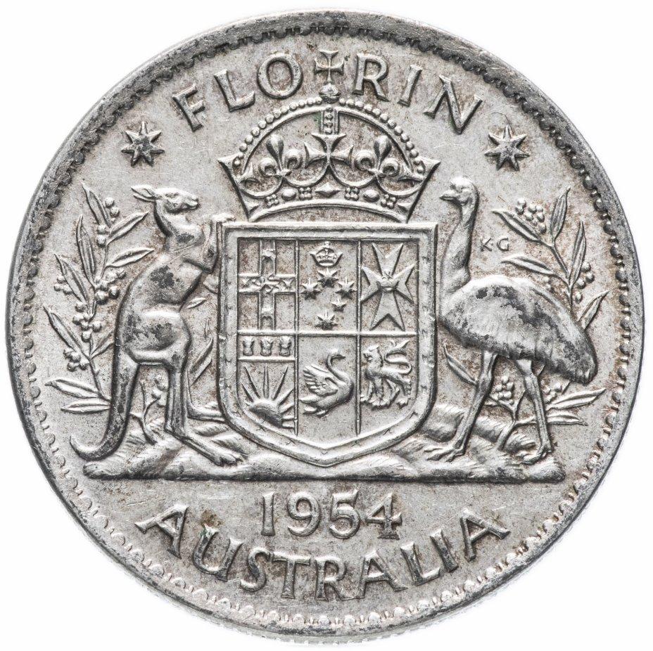 купить Австралия 2 шиллинга (флорин) 1954