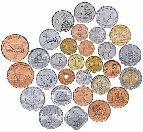 """купить Набор монет мира """"UNC - 2"""" 1966-2019 (30 монет)"""