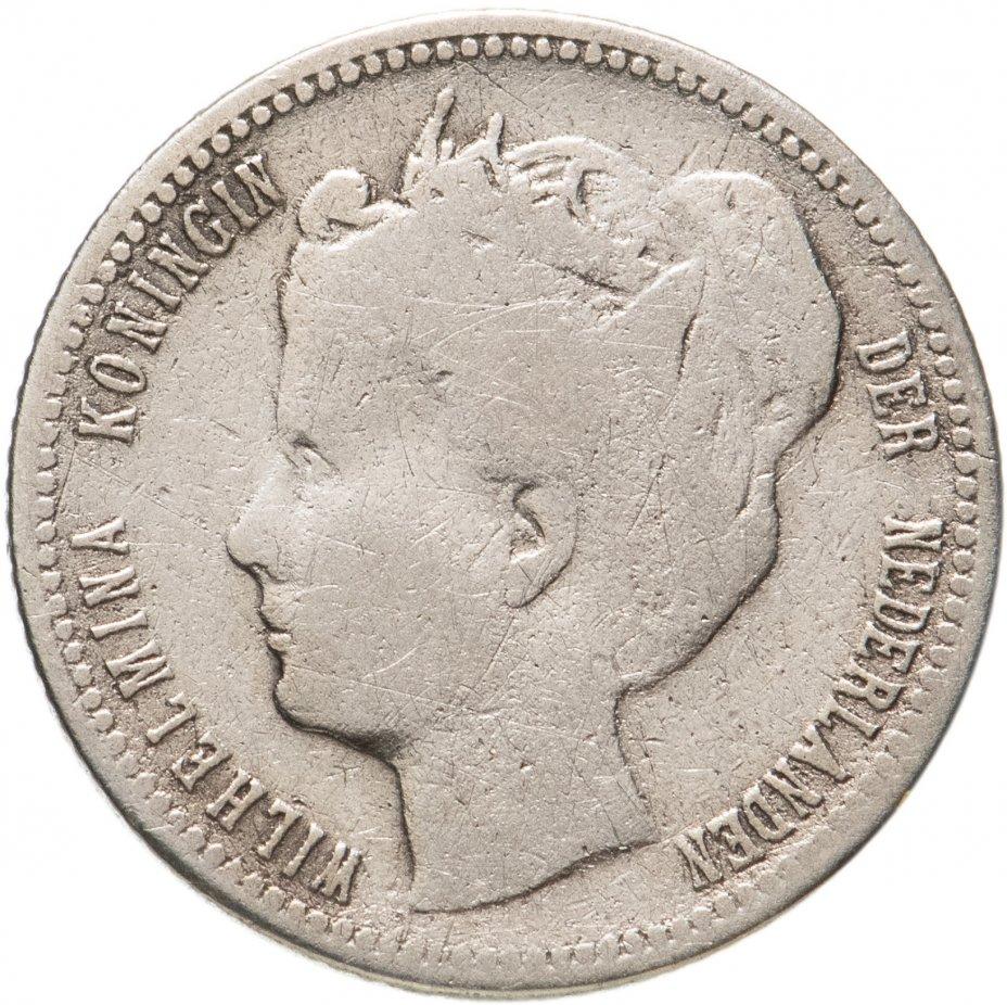купить Кюрасао 1/4 гульдена (gulden) 1900