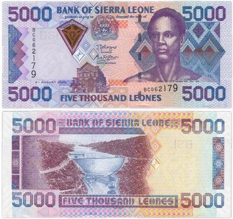 купить Сьерра-Леоне 5000 леоне 2006 года (Pick 27c)