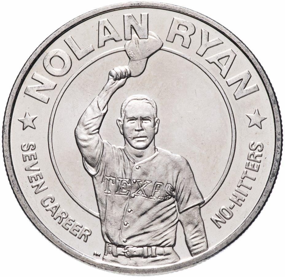 купить Либерия 1 доллар (dollar) 1993 Нолан Райан
