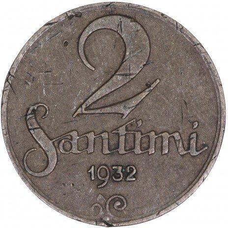 купить Латвия 2 сантима 1932