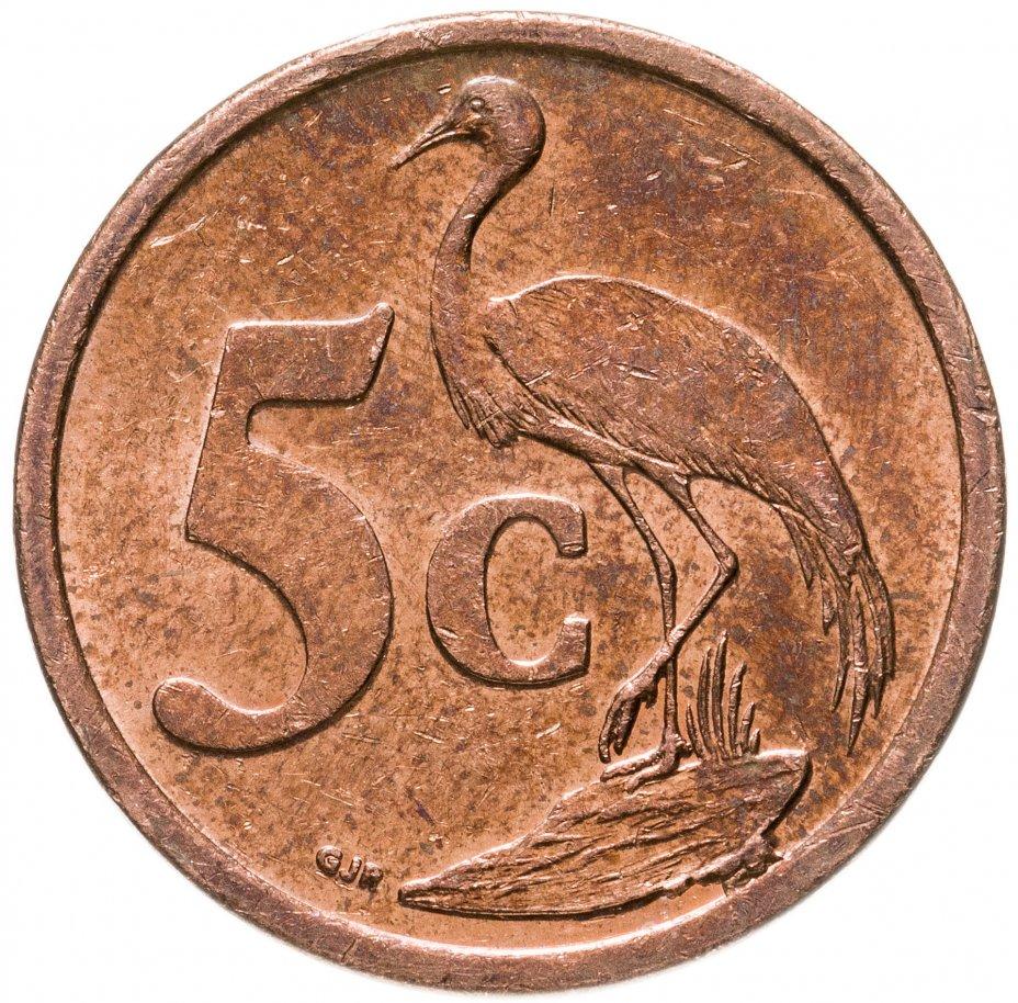 купить ЮАР 5 центов 2000-2011, случайная дата