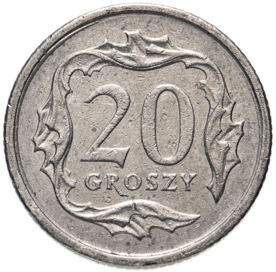 купить Польша 20 грошей (groszy) 1990-2016, случайная дата