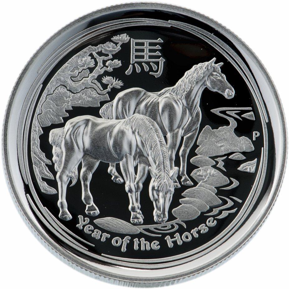 купить Австралия 1 доллар 2014  «Лошадь»