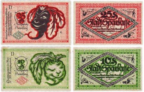 купить Германия (Вестфалия: Билефельд) набор из 2-х нотгельдов 1917-1919 (В44/B5)