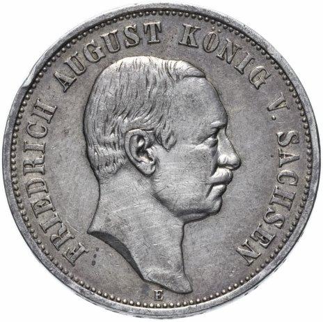 """купить Германская Империя (Саксония) 3 марки 1909 """"Е"""""""