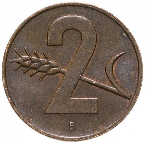 купить Швейцария 2раппена (rappen) 1948-1974, случайная дата