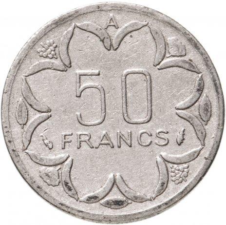 купить Центральная Африка (BEAC), Чад 50 франков (francs) 1977 A