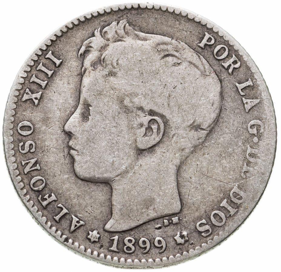 купить Испания 1песета (peseta) 1899