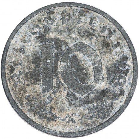 купить Третий Рейх 10 рейхспфеннигов 1942