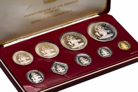 купить Багамские острова годовой набор из 9 монет 1978 в запайке и футляре