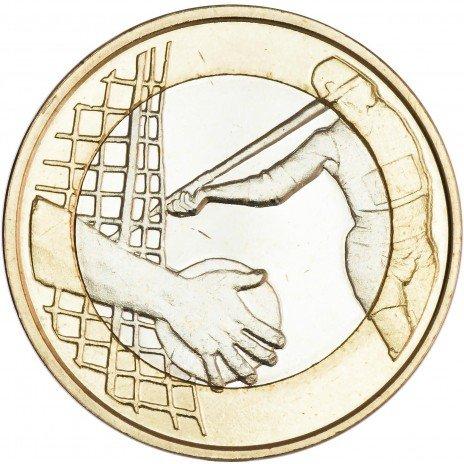 купить Финляндия 5 евро 2016 Лёгкая атлетика