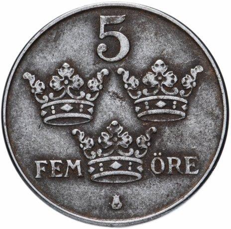 купить Швеция 5 эре (ore) 1942-1950, случайная дата