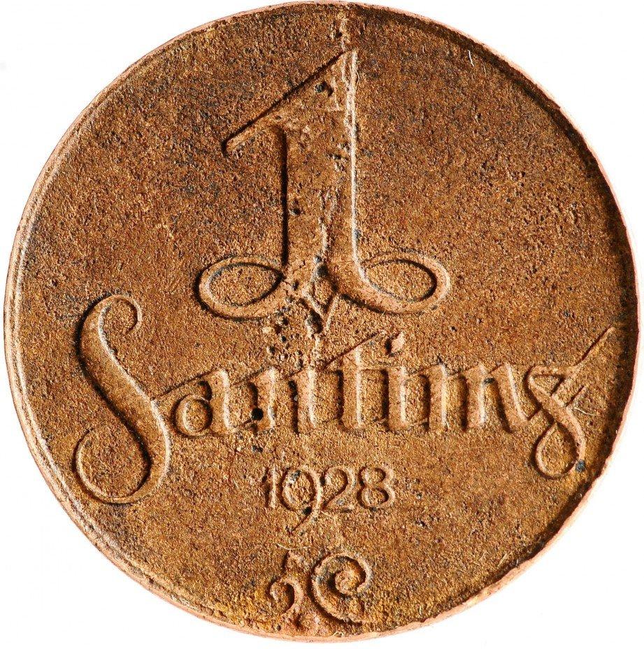 купить Латвия 1 сантим 1928