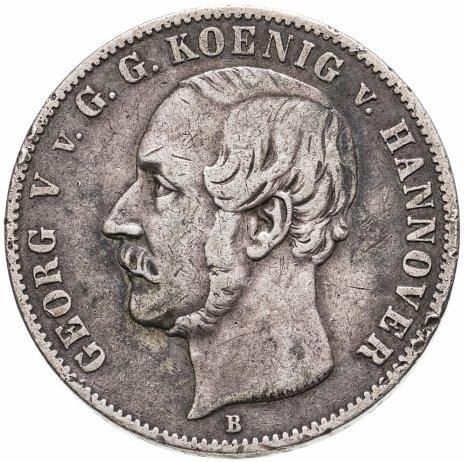 купить Ганновер 1 талер 1856