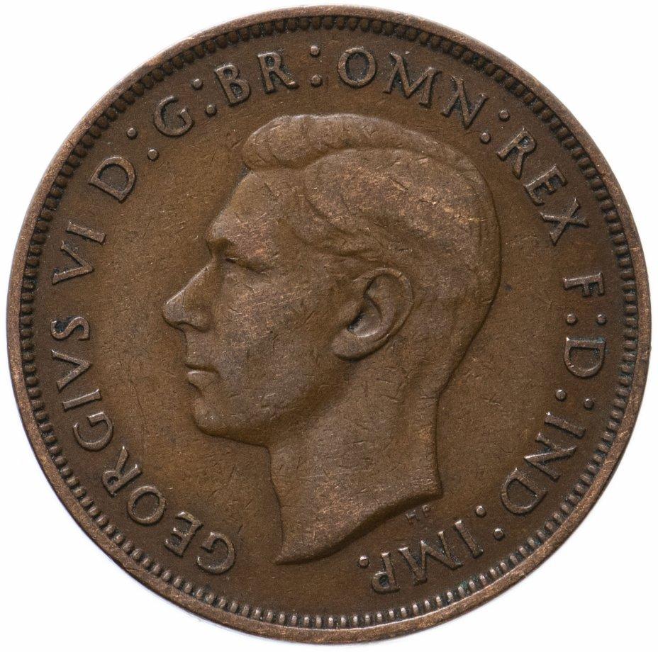 купить Великобритания 1 пенни (penny) 1946