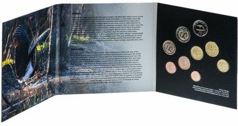 купить Латвия годовой набор из 9 монет евро 2015 в буклете